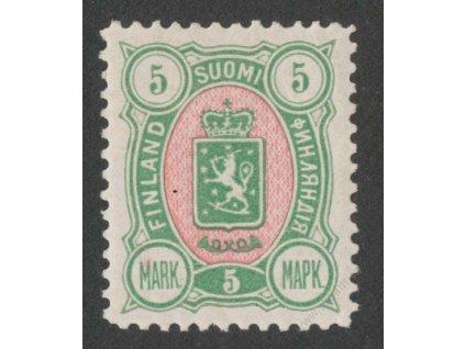 1889, 5M Znak, * po nálepce, lehký vlom