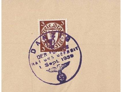 Danzig, 1938, Der führer hat uns befreit, výstřižek, dv