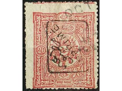 1892, 20Pa Znak, MiNr.75, razítkovaná
