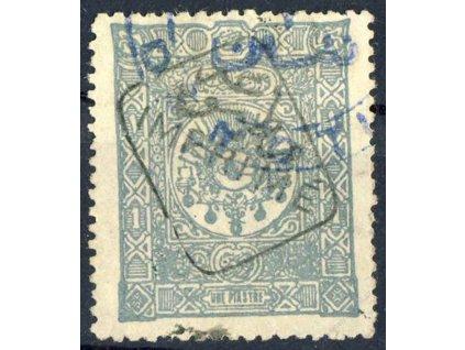 1892, 1Pia Znak s přetiskem, MiNr.76, razítkované