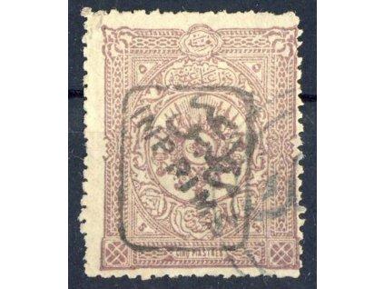 1892, 5Pia Znak s přetiskem, MiNr.78, razítkované