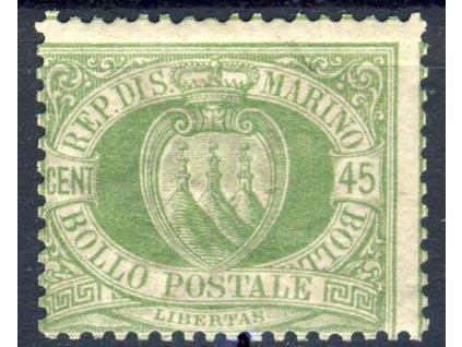 1892, 45C Znak, MiNr.18, **