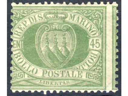 1892, 45C Znak, MiNr.18, ** , posun