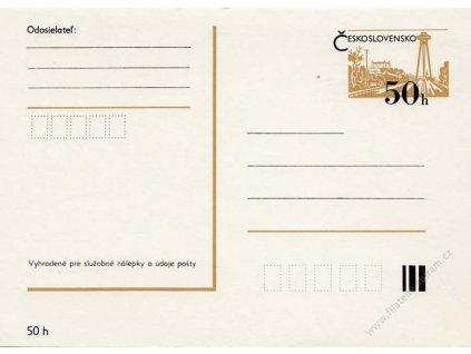 CDV 193 Bratislava (II), tmavší papír