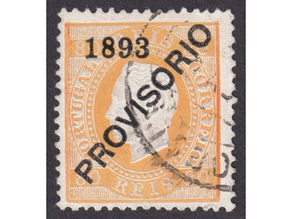 1893, 80R Luis, MiNr.92, razítkované, dv
