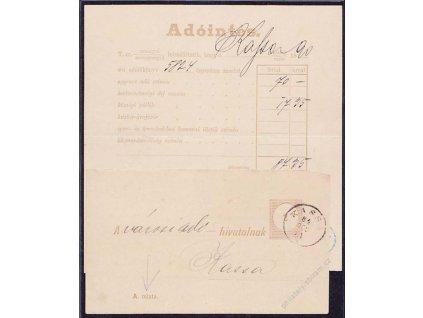 1894/90, Větší a menší díl formuláře Adointés