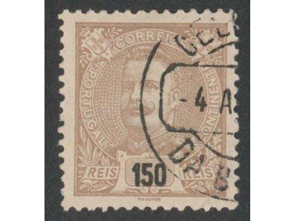 1895, 150R Carlos, MiNr.134A, razítkované