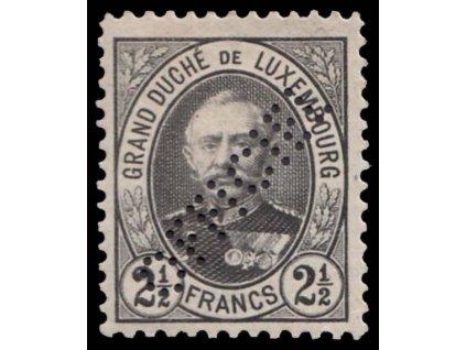 1899, 2 1/2Fr služební, MiNr.74, * po nálepce