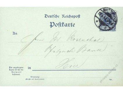 1900, DR Manheim, dvojitá jednostranně prošlá