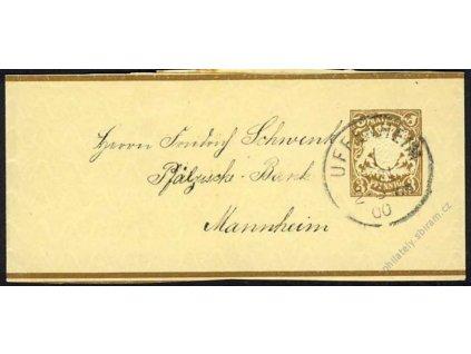 Bayern, 1900, DR Ufenheim, novinová páska