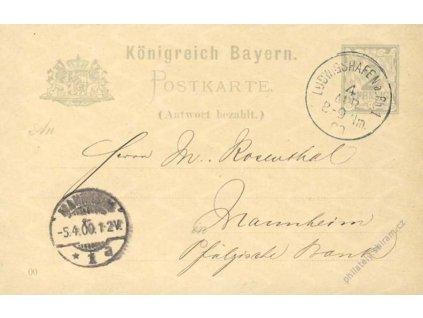 Bayern, 1900, DR Ludwigshafen, dvojitá