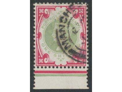 1900, 1Sh Viktoria, MiNr.101, razítkované