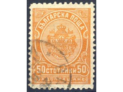 1901, 50St doplatní, MiNr.20, razítkované