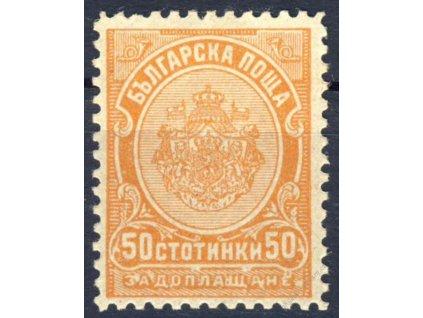 1901, 50St doplatní, MiNr.20, * po nálepce