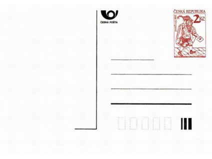 CDV 2 Poštovní posel
