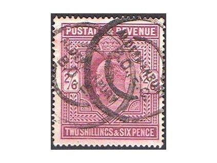 1902, 2Sh6P Eduard, MiNr.115A, razítkovaná