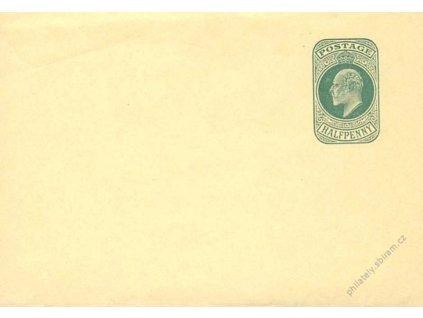 1902, novinová páska 1/2P Eduard, Nr.S11, neprošlé