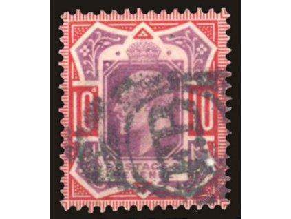 1902, 10P Eduard, MiNr.113A, razítkované