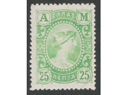 1902, 25L Hermes, MiNr.140, * po nálepce