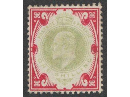 1902, 1Sh Eduard, MiNr.114A, (*)