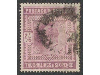 1902, 2Sh6P Eduard, MiNr.115A, razítkované, drobné faldy