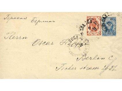 1903, DR Odecca, celinová obálka MiNr.U33