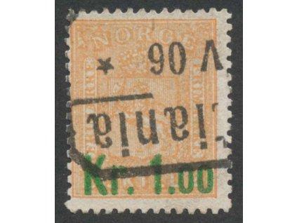 1905, 1.00Kr/2Sk Znak, MiNr.62, razítkované