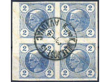 1906, DR Aviovac, 4blok novinových známek 2H