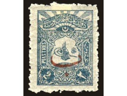 1906, 2Pia Znak, MiNr.133, těžší *