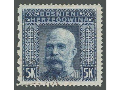 1906, 5Kr Franc Josef, L 12 1/2:12 1/2:12 1/2:6 1/2,