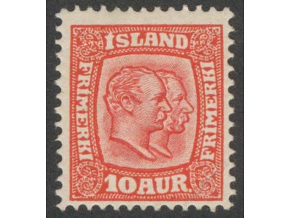 1907, 10A Panovníci, MiNr.53, * po nálepce