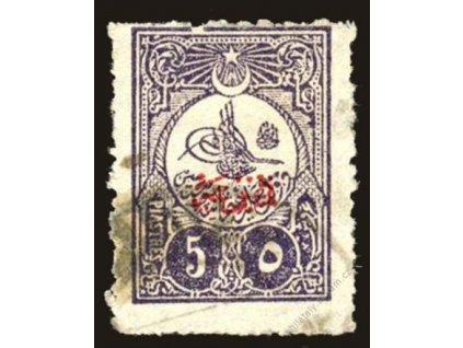 1908, 5Pia Znak, MiNr.149, razítkované