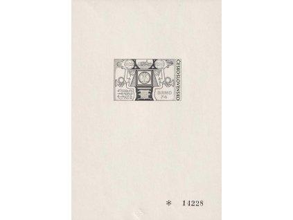 PT 10 Výstava známek BRNO 74