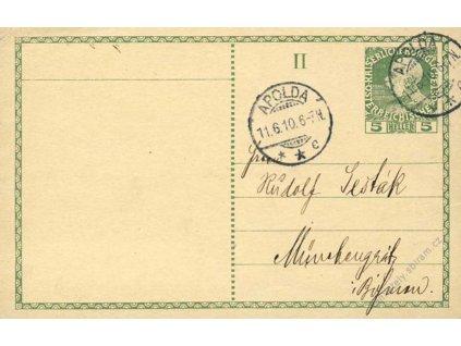 1910, DR Apolda, II. díl dopisnice