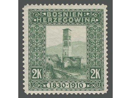 1910, 2Kr Kostel, MiNr.59, těžší *