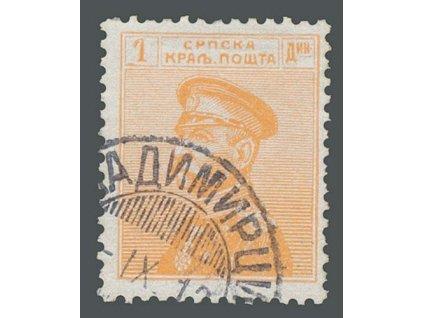 1911, 1Din Alexandr, MiNr.104, razítkované