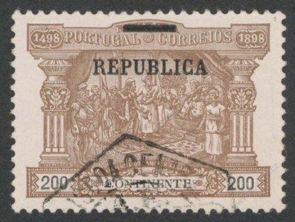 1911, 200R Výjev, MiNr.193, razítkované