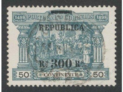 1911, 300Rs/50R Výjev, MiNr.194, razítkované