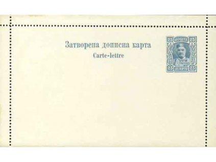 1912, 25Pa Nikola, zálepka, neprošlé