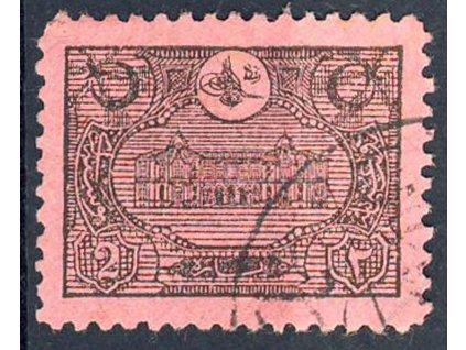 1913, 2Pia doplatní, MiNr.38, razítkované, dv