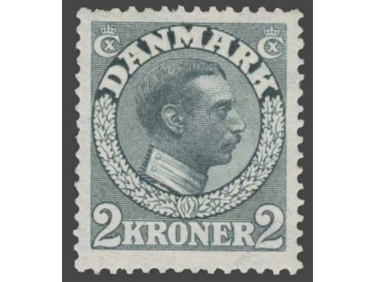 1913, 2Kr Christian, MiNr.76, reparovaná *