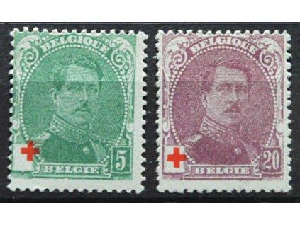 1914, 5 a 20C Červený kříž, ZT, (*)