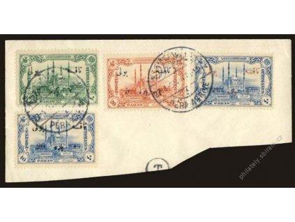 1914, 2Pa/10Pa-20Pa/40Pa doplatní, výstřižek