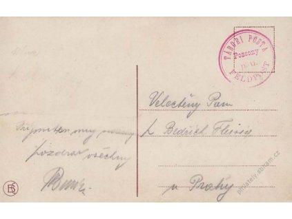 1914, Pozsony, Tábori posta Feldpost, pohlednice