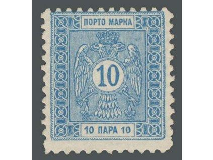 1914, 10Pa doplatní, MiNr.10, **