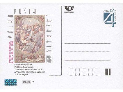 PM 14 Válka, pošta, lazarety
