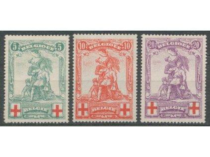 1914, 5-20C série Červený kříž, * po nálepce