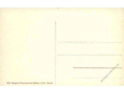 1915, žertovná vojenská pohlednice, neprošlé