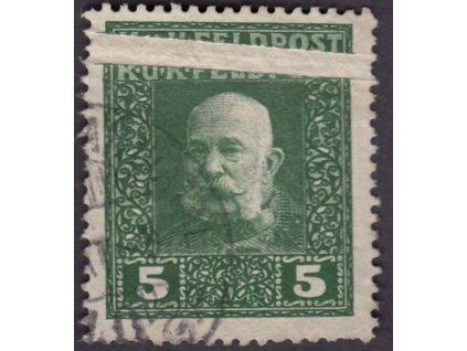 Společné vydání, 1915, 5H Franc Josef, složka, dv, kzy