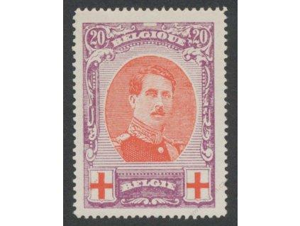 1915, 20C Červený kříž, MiNr.112A, **